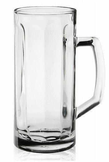 Glasmark Kufel do piwa PRESS 500ml gładki