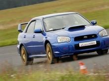 Jazda Subaru Impreza - pasażer - Wrocław - 2 okrążenia