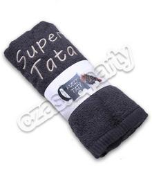 Ręcznik z haftem SUPER TATA 1 szt.
