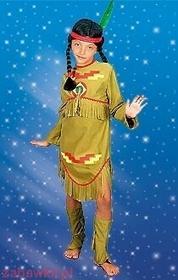 Sezamik STRÓJ karnawałowy Indianka 0477