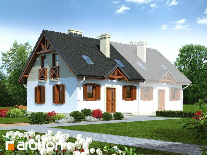 Archon+ Dom w borówkach (B) ver.2 (powierzchnia 83.49 m2)