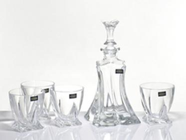 Bohemia Zestaw do whisky Florale Crystalite