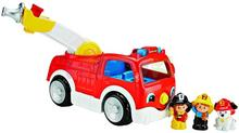 Fisher Price Wesoły wóz strażacki Little People DNP12
