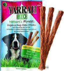 Yarrah Bio Pałeczki dla psa - 3 x 3 sztuki