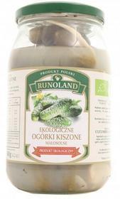 Runoland Ogórki kiszone małosolne ekologiczne BIO - EKO 820g 03695