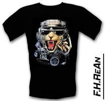 T-Shirt T-SHIRT KOT ROCK BAWEŁNA 100%