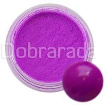 I-nails aki145 Akryl kolorowy Neonowy 3g - Bright Purple