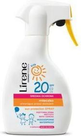 Lirene Lirene kids mleczko do opalania SPF20 spray dla dzieci 200ml