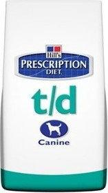 Hills Prescription Diet T/D Canine 10 kg