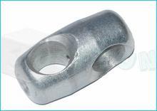 Just Fun Aluminiowy łącznik krzyżowy do liny zbrojonej