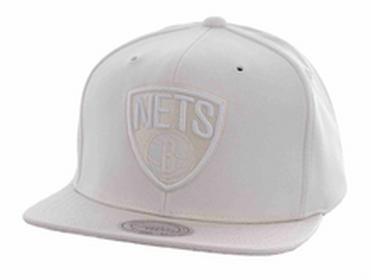 Mitchell & Ness czapka z daszkiem Winter White NETS) rozmiar OS