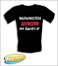 ŚmieSzne Koszulki Najfajniejsza Dziewczyna Na Świecie