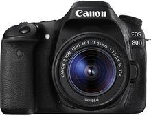 Canon EOS 80D + 18-55 IS STM czarny