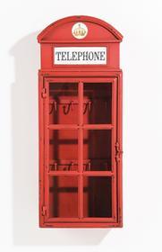 Kare Design Szafka na klucze London Telephone 76382
