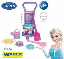 Wader Wózek z Zestawem do Piasku Disney Frozen 77970