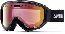 Smith Gogle snowboardowe - Knowledge Otg Black Red Sensor Mirror (99BY)