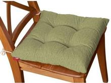 Dekoria Siedzisko na krzesło Jacek na krzesło Living zielony szenil