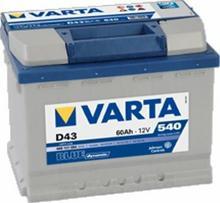 Varta BLUE DYNAMIC D43 60Ah 540A L+