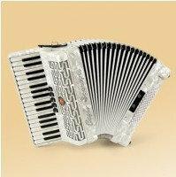 Paolo Soprani Studio 72 34/3/5 72/4/2 akordeon (biały perłowy)