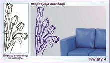Naklejka Kwiaty, Ornamenty nr 4