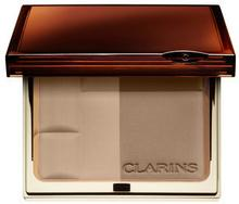 Clarins Bronzer brązujący Duo SPF 15 01 light female 10g