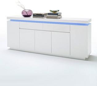 Fato LuxmebleAtlantic Komoda 5+2, biała 8559