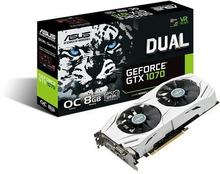 Asus GeForce GTX 1070 Dual OC VR Ready (90YV09T1-M0NA00)