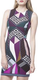 Versace Sukienka Wielokolorowy XXS