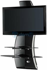Meliconi Półka pod TV z maskownicą GHOST DESIGN 2000 Carbon Fibre 488067