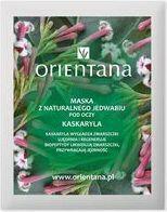 Orientana Maska z jedwabnej tkaniny pod oczy Kaskaryla 2szt.
