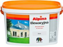 Alpina Farba elewacyjna biała 2 5 l