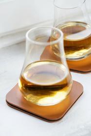 Sagaform Zestaw do degustacji whiskey Bar - 2 szklanki 150 ml + 2 podkładki