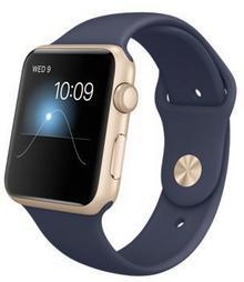 Apple Watch 42 mm Aluminium / Nocny błękit / Granatowy