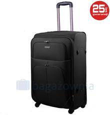 Kemer Mała kabinowa walizka PAROS Czarna - czarny