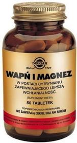 Solgar Vitamin & Herb Solgar Wapń i Magnez Cytrynian 50 ml