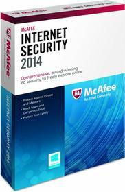 McAfee Internet Security 2014 (1 stan. / 1 rok) - Nowa licencja