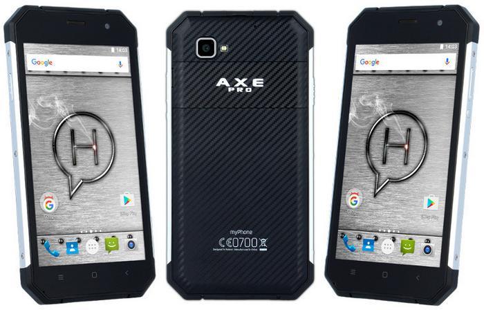 myPhone Hammer Axe Pro LTE Czarny