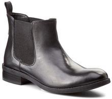 Clarks Botki - Pita Sedona 261115754 czarny Leather