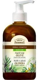 Green Pharmacy Mydło w płynie Oliwka - chroni i odżywia 465 ml 7050027