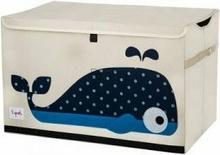 3Sprouts Pudełko Zamykane Wieloryb 3STCWH