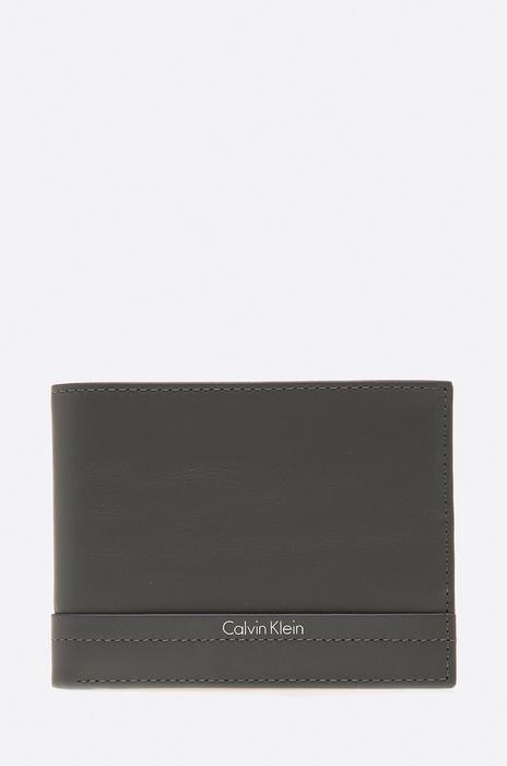 414e67cf14373 Calvin Klein Portfel K50K502290 szary - Ceny i opinie na Skapiec.pl