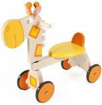 Scratch Pojazd drewniany żyrafa 6181402