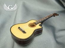 GRAWERNIA.PL Mini gitara akustyczna z pozytywką - model MGT3