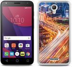 Alcatel Foto Case - Pixi 4 (5) 3G (5010) - etui na telefon Foto Case - miasto nocą
