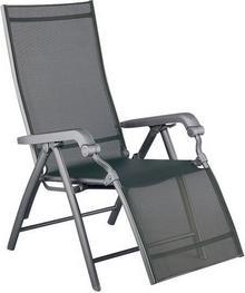 LUCCA fotel Aluminium/Textilene w kolorze srebrnym 01590-000