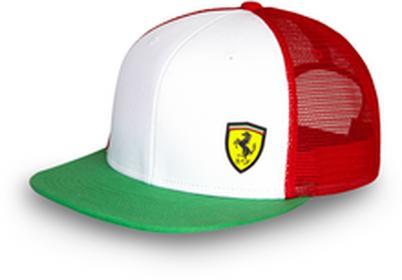 Ferrari F1 Czapka Tricolore Cap