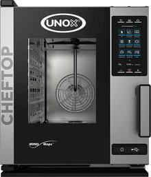 Unox Piec konwekcyjno-parowy 5xGN1/1 ChefTop Plus Compact system myjący dotykowy ekran 9000564