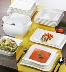Ambition Komplet obiadowy Fala 42-elementowy 61154