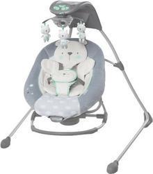 Bright Starts Huśtawka duża z karuzelą i adapterem Twinkle Teddy Bear 2w1 0m+ do 9 kg) 10088-1