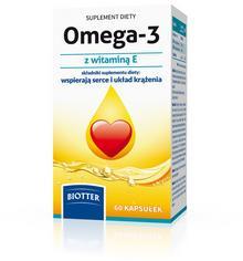 Diagnosis BIOTTER Omega-3 z witaminą E 60 szt.